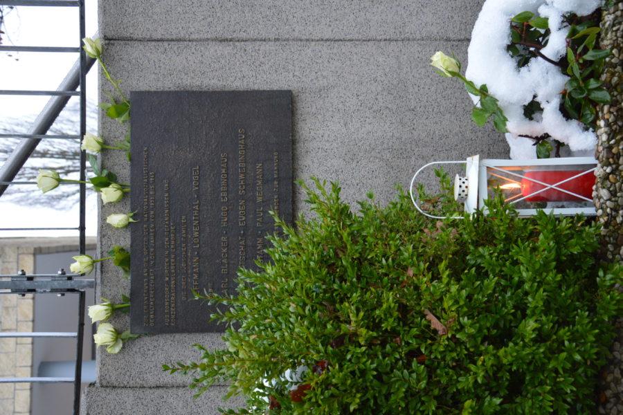 2020_Holocaust Gedenktag