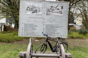 2021_Denkmal Bahntrasse mit Fahrrad